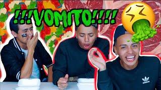 Comida Real vs Comida de Gomita *COMIENDO CARNE CRUDA🤮😱* Ft Botonet -Cristhian Romero