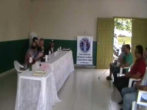 Ass  de Moradores  da C M  Velha Recebe o Don Jacinto e os Presidentes de Bairros DA região Mineir