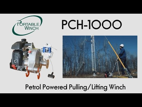 Portable Winch PCH-1000 Petrol Powered Pulling/Lifting Winch
