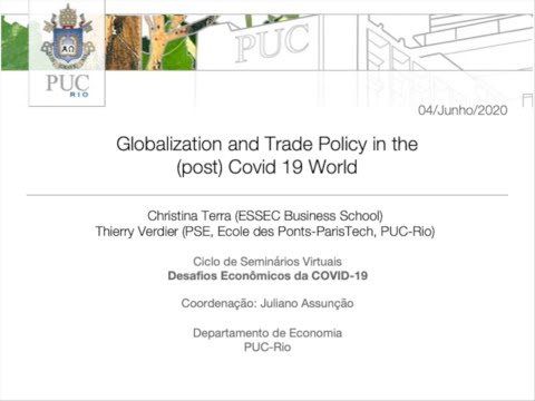 Globalization And Trade Policy In The (post) Covid 19 World