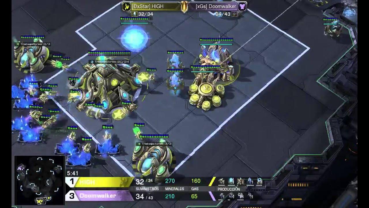 Starcraft 2 Hots Lapl Game 5 High Vs Doomwalker