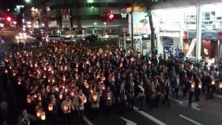 浜松祭り2012  風心会激練り thumbnail