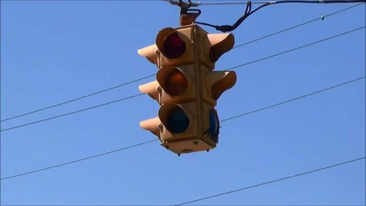 Traffic Light Out 4 Way Stop