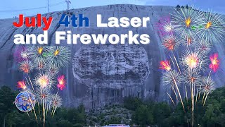 Stone Mountain Park 4th of July Laser and Fireworks Show 2021 | Full Show l 4K Ultra Low Light