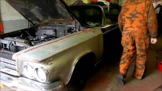 First Drive 1964 Chrysler 300K 4 speed conversion