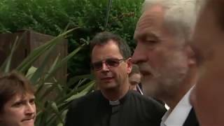 Unedited footage of Jeremy Corbyn's visit to Grenfell Tower
