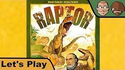 Raptor - Brettspiel - Spiel - Let's Play