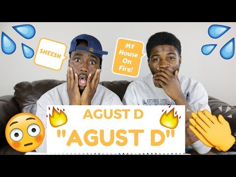 Agust D- ' Agust D' | OFFICIAL REACTION