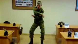 Tecktonik in Russian army .