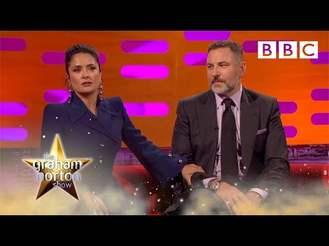 Salma Hayek tops David Walliam's anecdote about Prince - The Graham Norton Show 2017: Preview