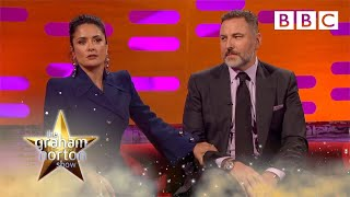 Salma Hayek tops David Walliam\'s anecdote about Prince - The Graham Norton Show 2017: Preview