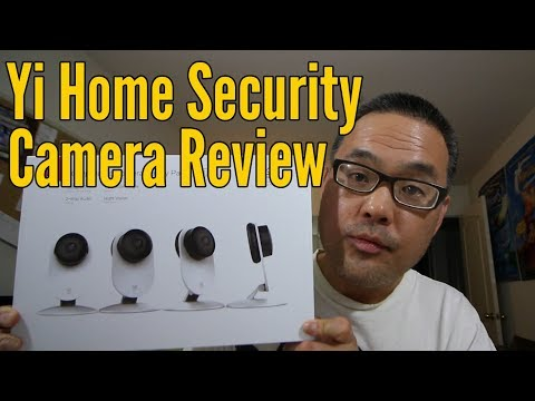 Yi Home Security Camera Review and Set Up