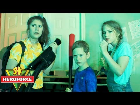 SHK HeroForce Episode 1: Monsters in the Attic! Game Master Mystery Portal Discovered SuperHeroKids