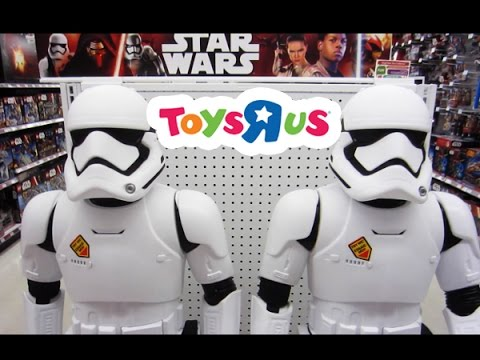 Star Wars The Last Jedi Toys R Us Toy Hunting 2017 / 2018