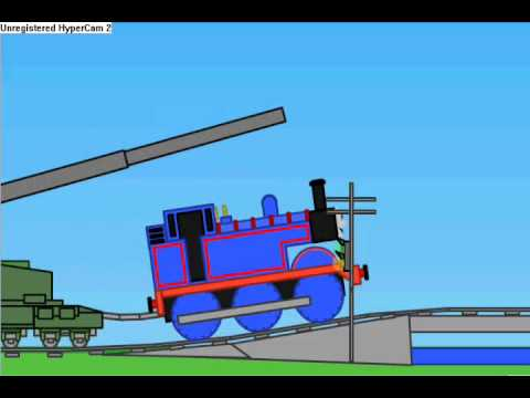 Incredibots Thomas The Tank Engine And Gustav Cannon Youtube