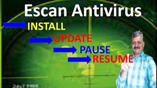 ESCAN ANTIVIRUS  को कैसे इनस्टॉल करेंगे  II  HOW TO INSTALL ESCAN ANTIVIRUS
