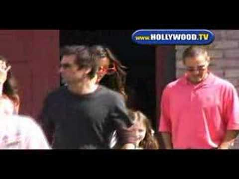 Kate Beckinsale & Len Wiseman  in Malibu.