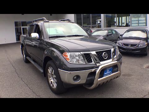 2012 Nissan Frontier White Plains, New Rochelle, Westchester, Scarsdale, Greenwich, NY U24988P
