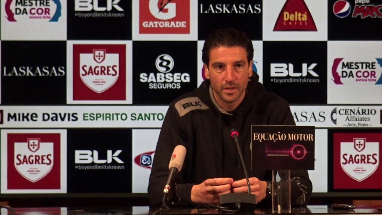 Conferência De Imprensa De Antevisão Ao Jogo Sl Benfica Vs