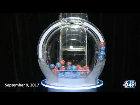 Lotto 6/49 Draw September 9, 2017