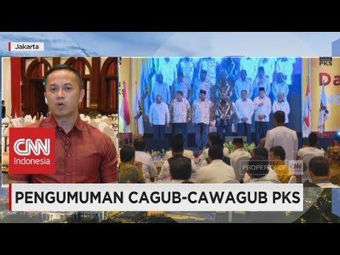 Pengumuman Cagub - Cawagub PKS Untuk Pilkada 2018