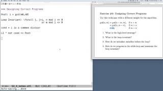 V13 Designing Correct Programs