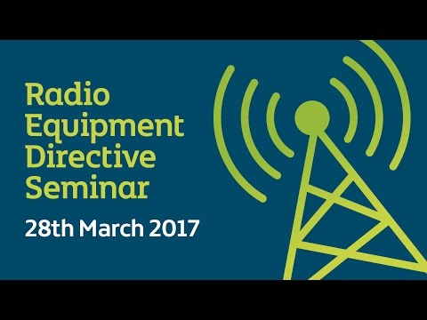 CE Marking Lecture | Radio Equipment Directive Seminar