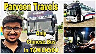 Download Video PARVEEN TRAVELS | Zhongtong AC Executive Sleeper | Oldest Travels In India | Bus Reviews |Vlog 46 MP3 3GP MP4