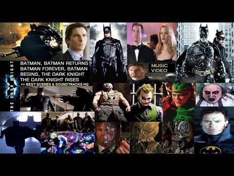 Batman Tribute Music Video: Best Scenes of Batman   Batman Fights w Villains (Riddler, Joker, Bane)