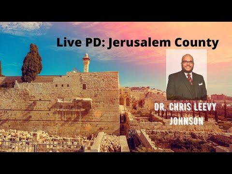 Live PD Jerusalem County- Dr. Chris Leevy Johnson(Law Enforcement & Police)