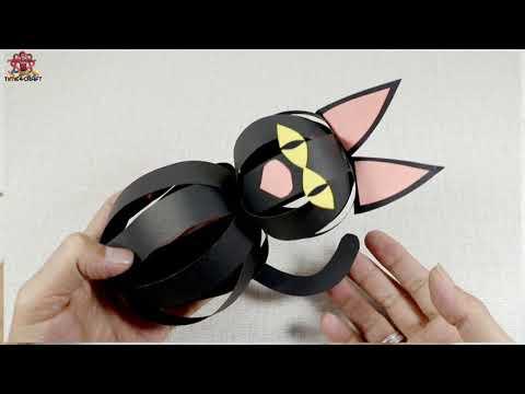 6 Best Halloween Craft Ideas - DIY Halloween Stuffs - Origami Halloween