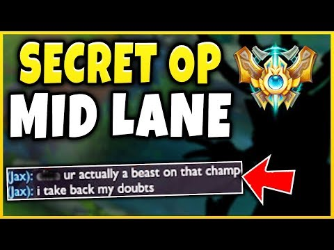 MY NEW *SECRET* OVERPOWERED MAIN CHAMPION! (ACTUAL 1V5 POTENTIAL) - League of Legends