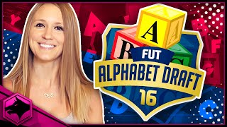 FIFA 16 ALPHABET FUT DRAFT !!!??? PURPLE RONALDO!!??