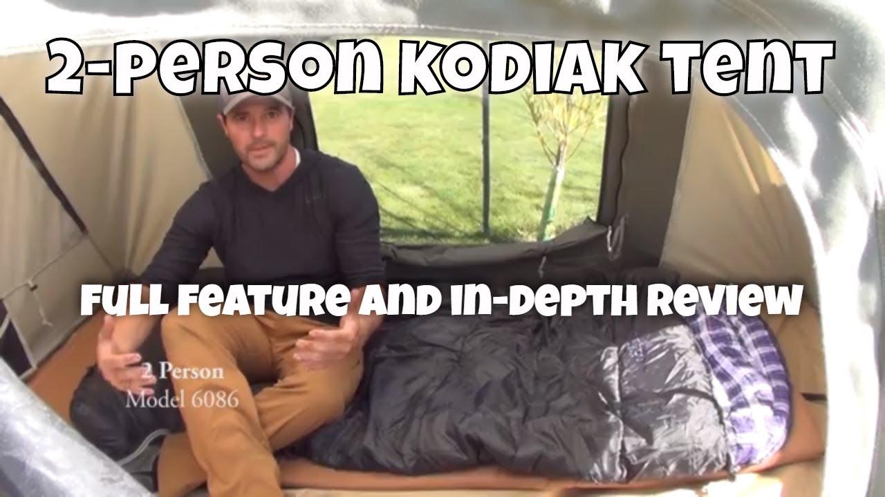 quality design 64f1e d2a45 2-Person Kodiak Canvas Tent Review