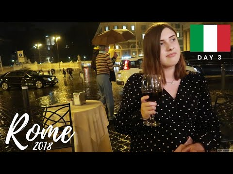 ROME TRAVEL VLOG: Day 3 | Vatican City & Wine