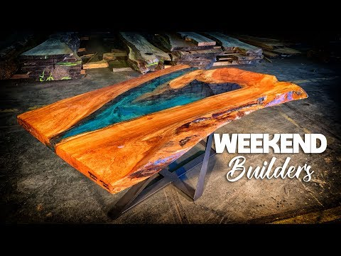 Epoxy River Table With Apollo Loca Amsterdam [subtitles included]