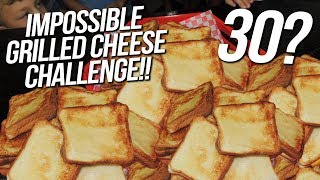 Grilled Cheese Sandwich Record Challenge in South Carolina!!