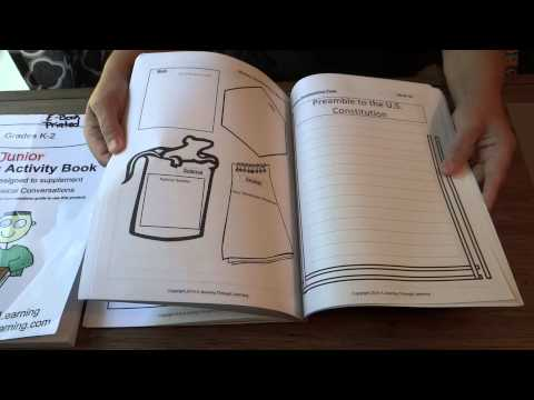 Classical Conversations Learning Activity Books for Memory Work (A Journey Through Learning)