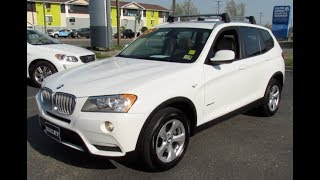 2012 BMW X3 xDrive28i Walkaround, Start up, Tour and Overview