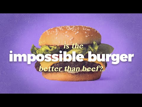 Are Plant-based Meats Actually Sustainable? (Impossible Burger & Beyond Meat)