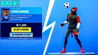 SOCCER SKINS/EMOTES ARE BACK..! (NEW Item shop) Fortnite Battle Royale