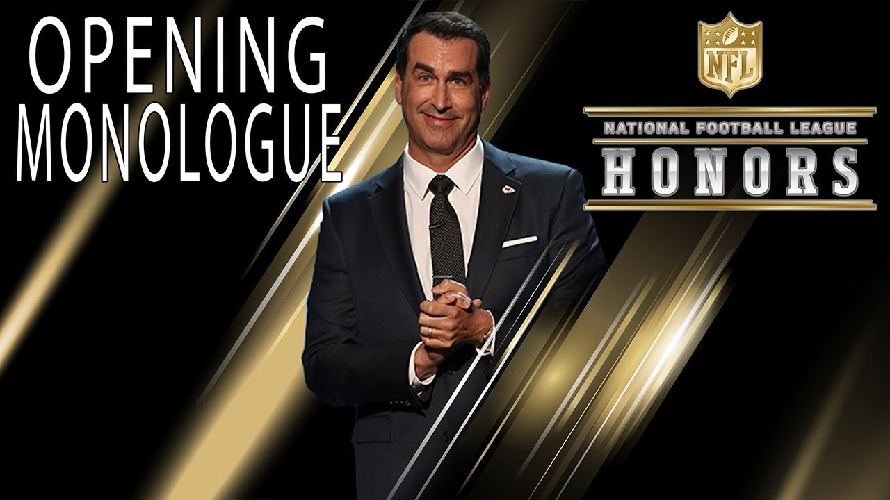 Download Rob Riggle Roasts the NFL's Elite in Opening Monologue   2018 NFL Honors