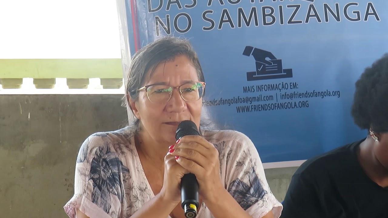 Vamos Falar das Autarquias no Sambizanga