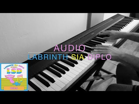 LSD - Audio ft. Sia, Diplo, Labrinth | Piano Cover