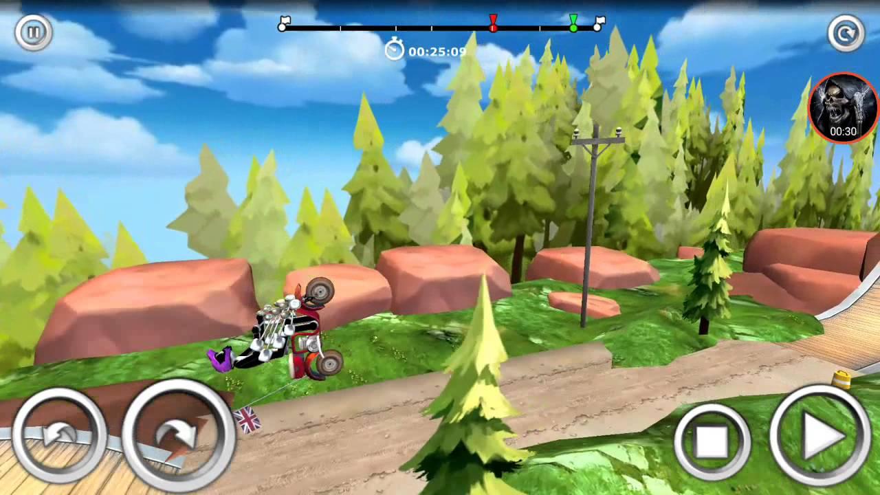 Игра на андроид: Станцевал на байке/Trial Xtreme 3/Android ...