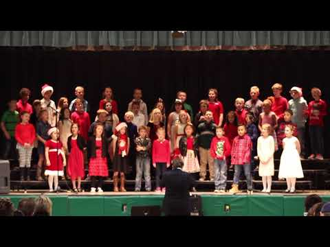 Pershing 3rd Grade Winter Program