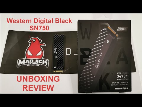 !!O melhor SDD NVME!!! - Western Digital Black SN750 Unboxing e Review