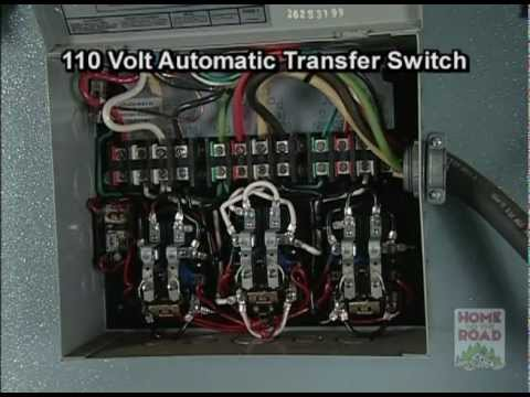 rv maintenance 110 volt ac automatic transfer switch youtube Generator Transfer Switch Schematic 50 amp rv transfer switch wiring diagram