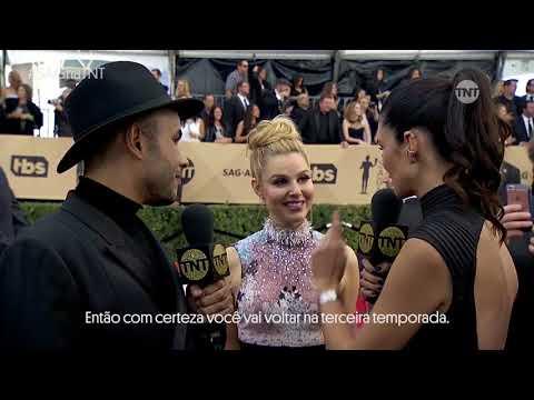 #SAGnaTNT   Entrevista com Cara Buono - Stranger Things