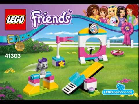 Lego Instructions 41303 Friends Dog Show Puppy Playground 2017 Youtube